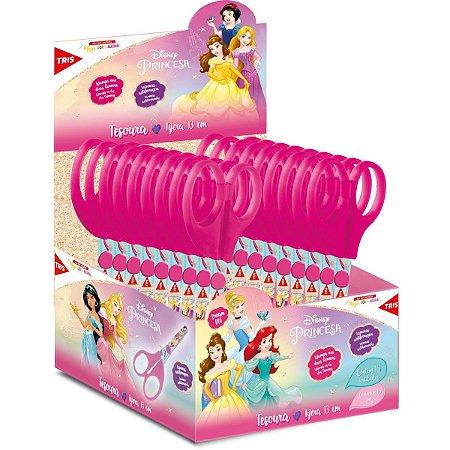 Tesoura Princesas Tris