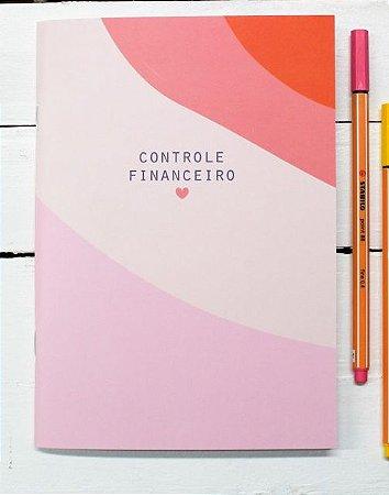 """Planner Financeiro """"Seja Forte e Corajosa"""""""