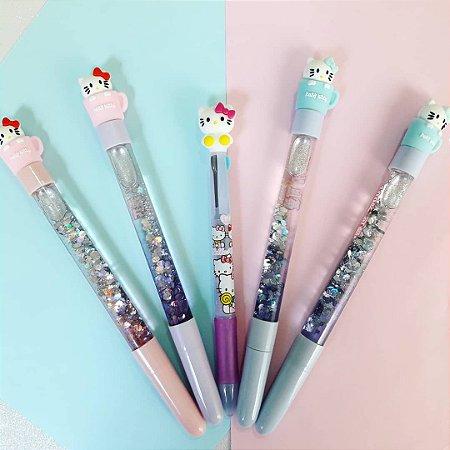 Caneta Hello Kitty Glitter