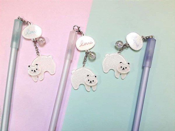 Caneta Panda Love Glitter