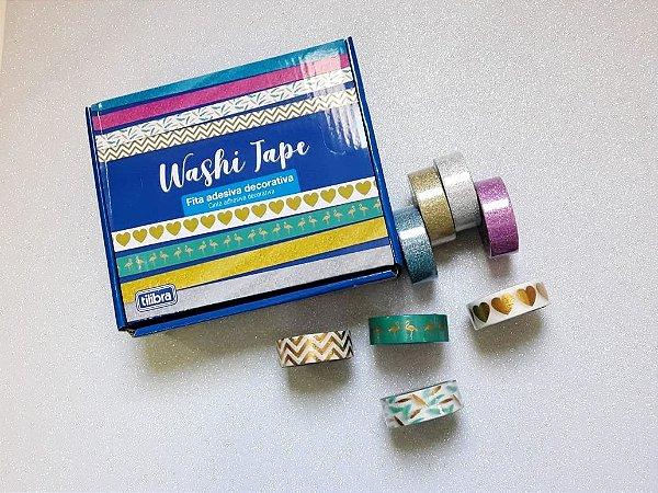 Washi Tape Tilibra Metalizada 10m