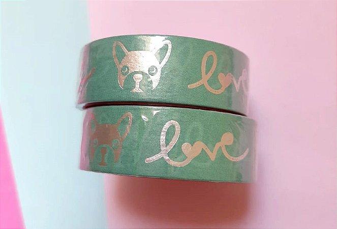 Washi Tape Cachorro Love