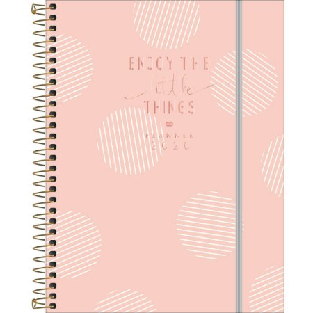 Planner Soho Tilibra 2020 Rose Gold