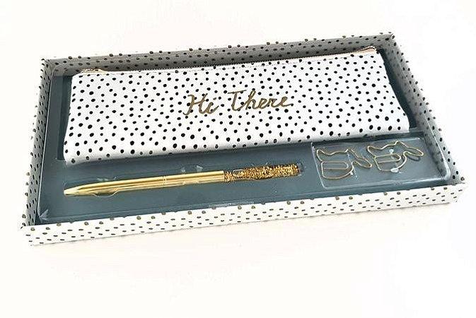Kit Presente Luxo Hema Preto e Branco