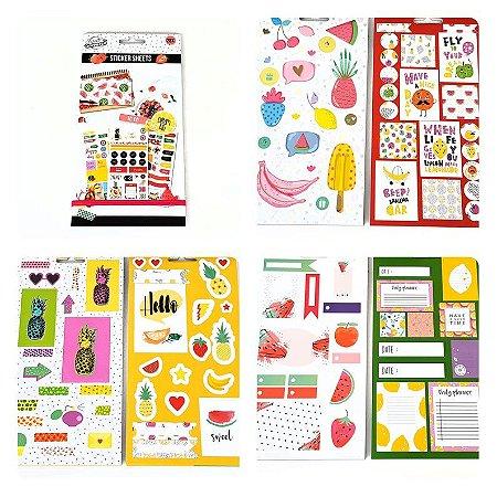 Sticker Book Grande Tropical Cool