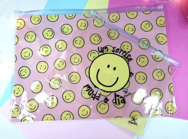 Kit de Pastas Zip Lock Smile