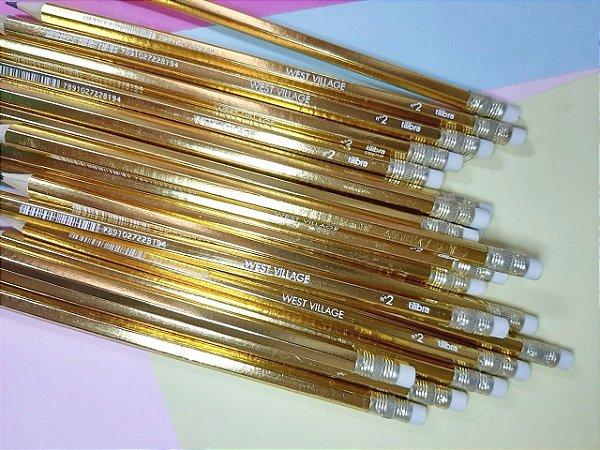 Lápis Dourado Luxo