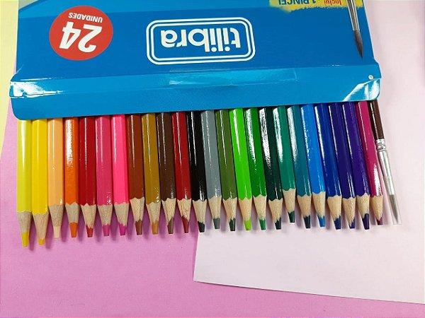 Lápis de cor Aquarelável 24 cores