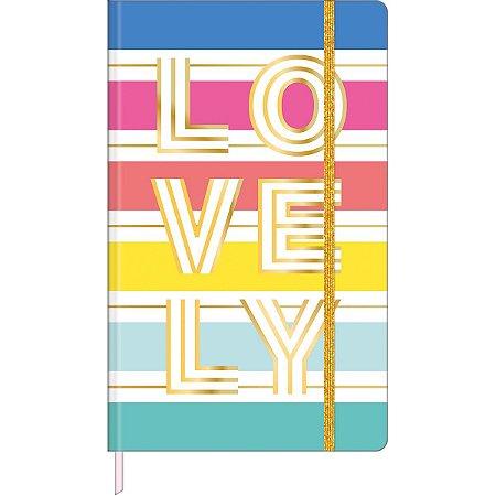 Caderno Pontado Lovely Colors