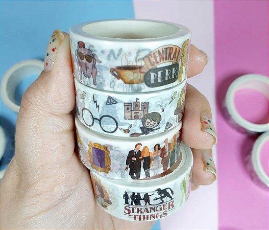 Washi Tape Friends, HP e Stranger Things