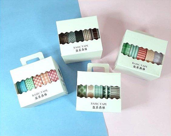 Kit Washi Tape Coloridinhas