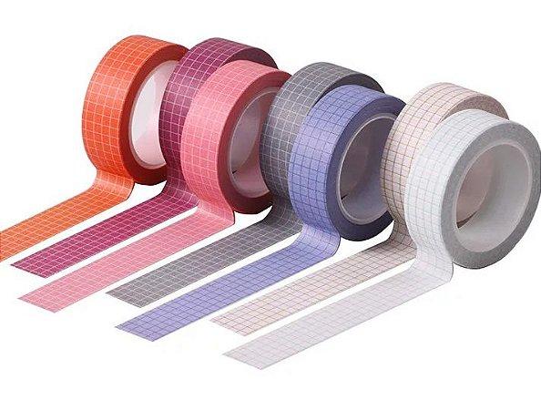 Washi Tape Grid Novas Cores