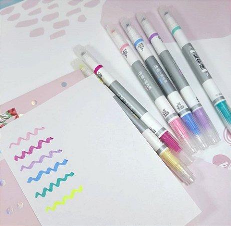 Marca Texto Apagável Macaron Colors