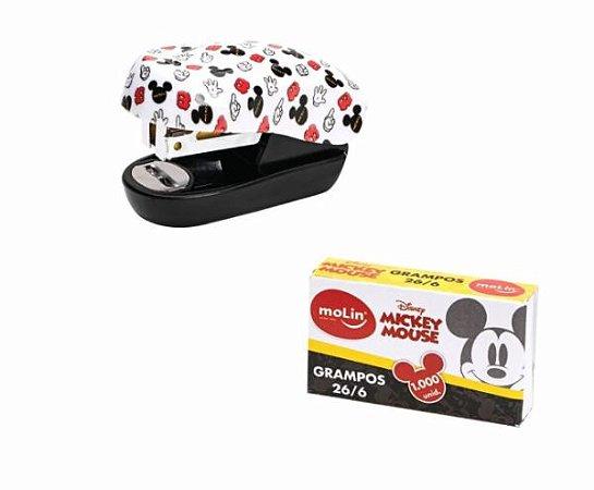 Mini Grampeador Mickey com Grampos