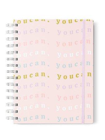 Caderno Pautado A5  You Can