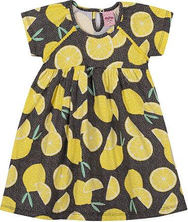 Vestido Infantil Limão Serelepe 6681