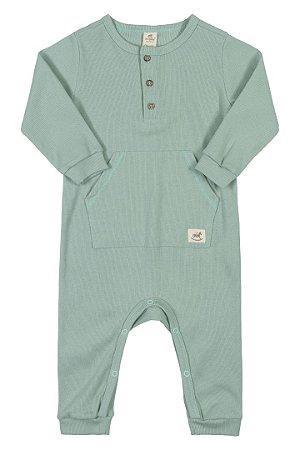 Macacão Ribana Nature Infantil Up Baby 43279 Verde