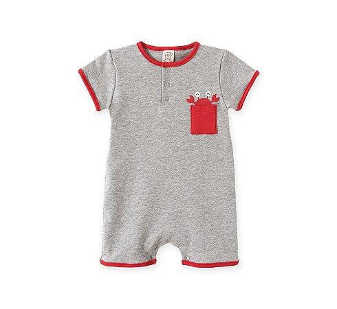 Macacão Curto para Bebê Pingo Lelê 66840