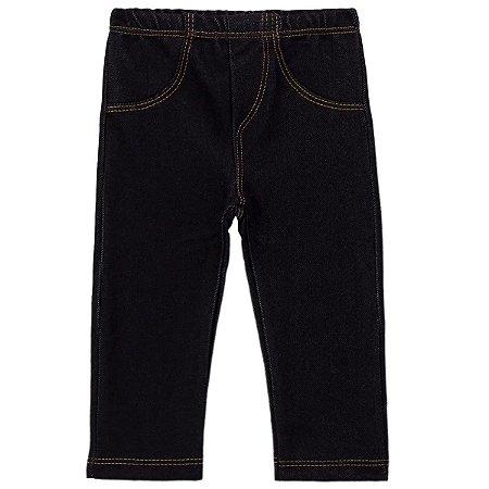 Calça Imita Jeans para Bebê 65800 COR PRETA
