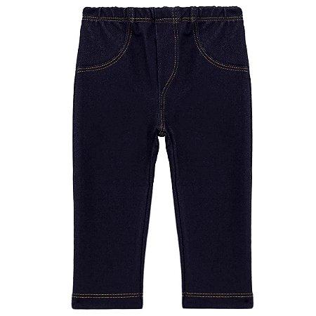 Calça Imita Jeans para Bebê 65800 COR AZUL JEANS
