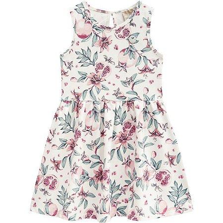 Vestido Infantil Milon Floral 12389