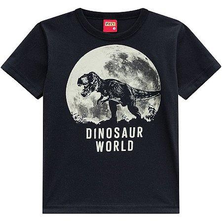 Camiseta Infantil Kyly Estampa Dinossauro 110289