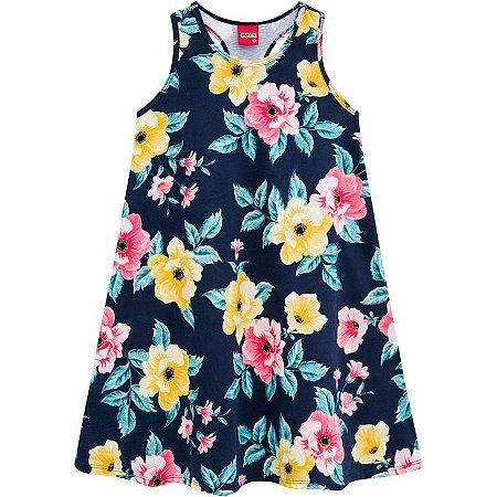 Vestido Kyly Infantil Floral 110244