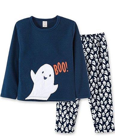 Pijama Longo Infantil em Soft Fantasinha Pingo Lelê  86045