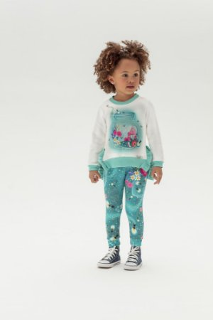 Conjunto Infantil Legging + Moletom Mon Sucre 4060