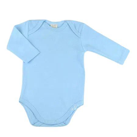Body Liso em Suedine Pingo Lelê 65656 Azul