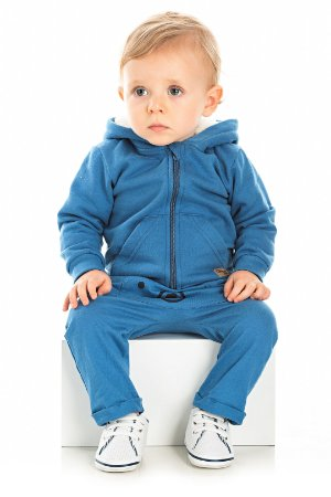 Conjunto para Bebê Body Curto + Casaco + Calça Serelepe 5379