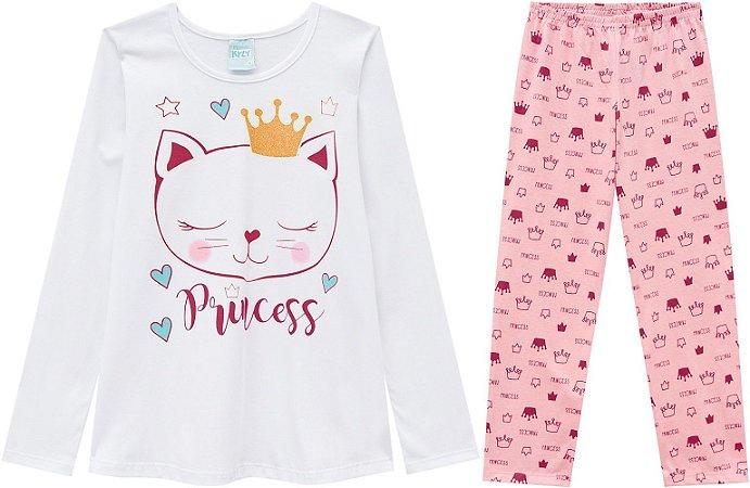 Pijama Longo Feminino  Kyly 206792