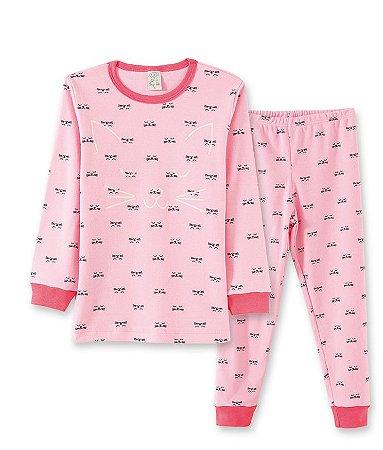 Pijama Longo Infantil em Suedine Pingo Lelê 76048