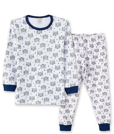 Pijama Longo Infantil em Suedine Pingo Lelê 86034