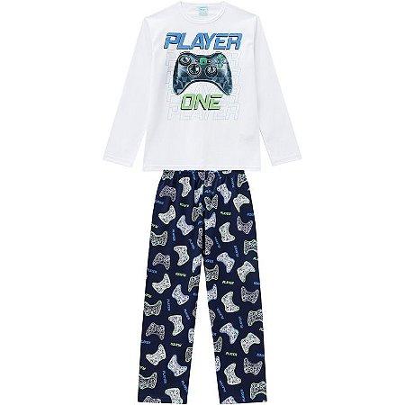 Pijama Longo Masculino Gamer Kyly 207026