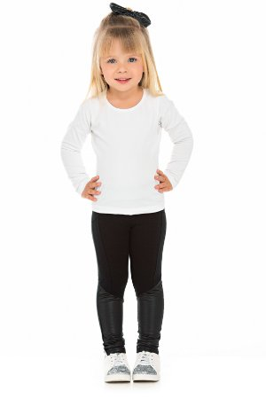 Legging Infantil Peluciada Preta Serelepe 5343