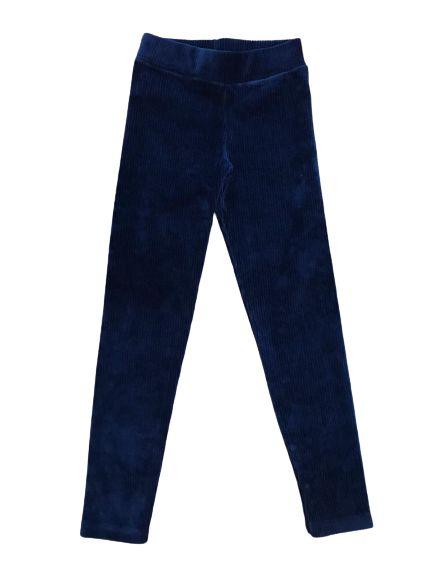 Calça Legging Veludo Serelepe 4902 Azul Marinho