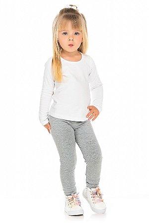 Legging Infantil Peluciada Mescla Serelepe 5347
