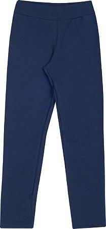 Legging Infantil Peluciada Azul Serelepe 5377