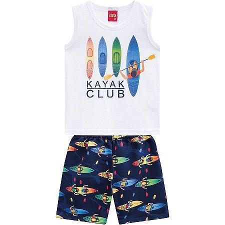 Conjunto Infantil Bermuda e Regata Surf Kyly 110295