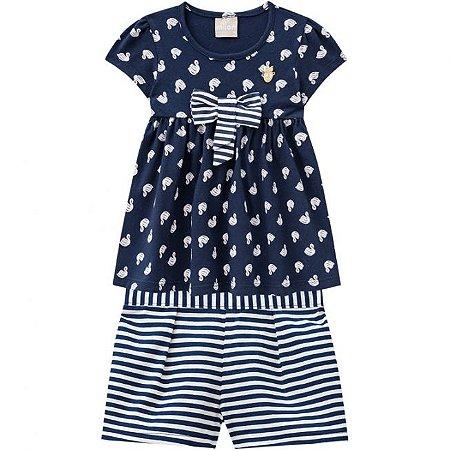 Conjunto Infantil Milon Short + Blusa 11687