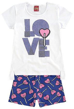 Conjunto Infantil Camiseta + Short Kyly 109186