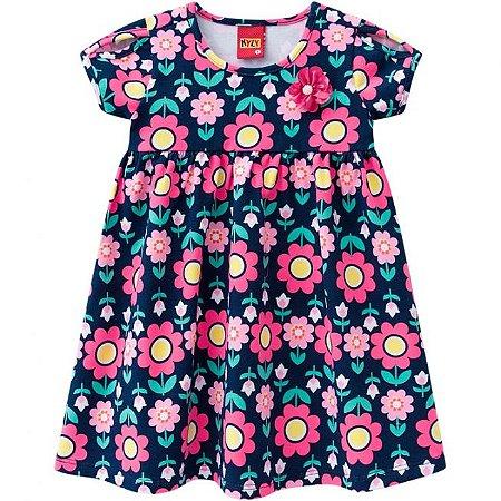 Vestido Infantil Flores Kyly 109614