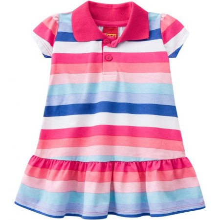 Vestido Infantil Gola Polo Kyly 109616