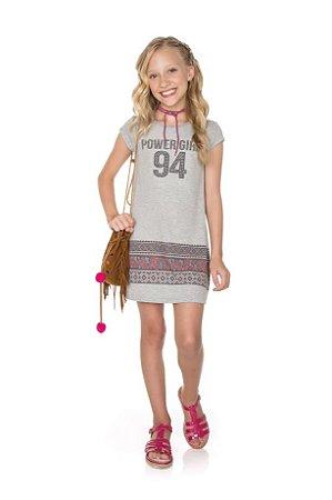 Vestido Infantil Pega Mania 52098