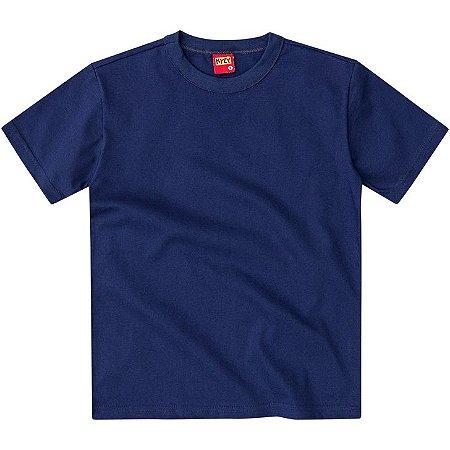 Camiseta Infantil Basica Azul Kyly 107628