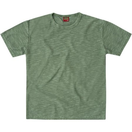 Camiseta Infantil Masculina Basica Cinza Kyly 107643