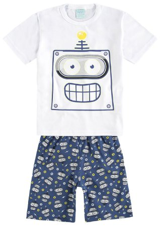 Pijama Infantil Masculino Anti Mosquito Kyly 109442
