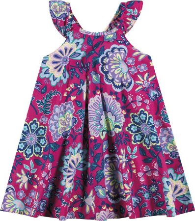 Vestido Infantil Rosa Nanai 600038