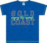 Camiseta Infantil Masculina Azul Escuro Serelepe 4584